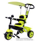 Triciclo al por mayor del bebé de la rueda de China 3 para la Navidad