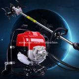 Tondeuse à gazon à quatre temps moteur à essence de sac à dos le désherbage de la machine Machine Mini scarificateur