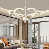 디자인 Home Depot 침실, 거실을%s 현대 LED 펀던트 샹들리에 램프 점화