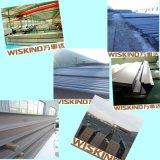 Costruzione prefabbricata della struttura d'acciaio dello SGS per la costruzione del capannone del garage