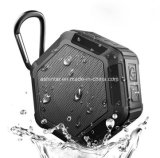 防水Ipx7 BluetoothのスピーカーのシャワーバスのBoomboxのホックのポータブルのスピーカー
