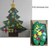 Venta caliente barata sentía Árbol de Navidad Árbol de Navidad/ para la decoración del hogar