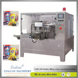 Liquide automatique pesant la machine à emballer remplissante de nourriture de cachetage