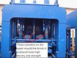 Qté Zcjk9-18 hydraulique multifonctions Machine automatique de bloc de béton