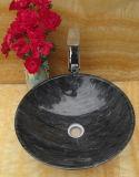 浴室のための自然な花こう岩の石の流しかボールまたは洗面器