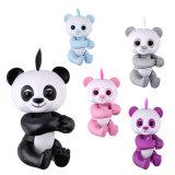 아이를 위한 최신 판매 핑거 동물성 장난감 대화식 지능적인 아기 판다 나태 다람쥐 Unicorn 재미있은 행복한 장난감 핑거 판다
