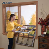 Puder-überzogenes schiebendes Aluminiumfenster