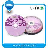 CD in bianco dei CD-R stampabile lucido 52X 700MB