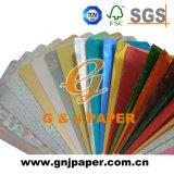 Kundenspezifisches Gold oder Splitter metallisierten Papier für Zigaretten-Sätze