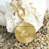Tegenhanger van de Heup van de Mensen van de Juwelen van het roestvrij staal de Gegalvaniseerde 18K Gouden Halsband (SPT6282)
