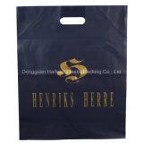 Bolso cortado con tintas diseño modificado para requisitos particulares de la maneta para el precio bajo de la bolsa de plástico de las compras