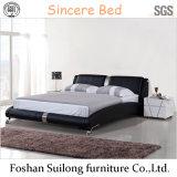 Lb04 현대 가죽 침대