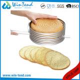 Forme carrée extensible de moulage de gâteau de traitement au four d'acier inoxydable d'usine