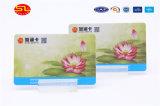 Impressão personalizada de tamanho de cartão de crédito cartões de PVC/PVC Cartão de negócios