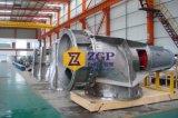 Pompe duplex chimique de coude de propulseur d'écoulement axial d'acier inoxydable