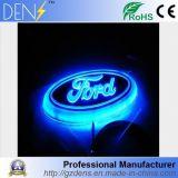 Emblemas ligeros de la divisa del tronco de la parrilla del coche 4D del LED