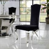 椅子を食事するヘビの形の足のステンレス鋼