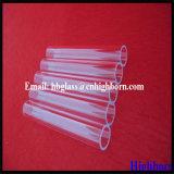 Fournisseur UV de tube de verre de quartz de bloc de grande pureté