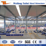 Factory原料の小屋によってなされる鉄骨構造の中国の低価格
