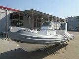 De Varende Rubberboot van de Visserij van de Boot van de Motor van Liya 17FT