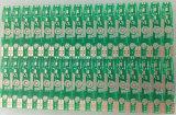 PCB агрегата PCB зеленого цвета Одиночн-Стороны монтажной платы 1 слоя Fr4 твердый