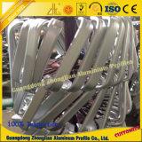 Perfil do tubo de alumínio com processamento de dobragem