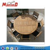 Table de restaurant en bois de teck durables et de la table de jardin en bois