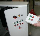 ISO9001를 가진 630kw에 의하여 주문을 받아서 만들어지는 도매 PLC 제어반 울안