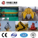High 50degree Centigrade Temperature Application를 위한 A7 24hours Working Class Grab Double Girder Overhead Traveling 또는 Bridge Crane