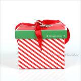 La sucrerie de cadeaux de présent de faveur de boîte-cadeau de réveillon de Noël de Noël de qualité enferme dans une boîte mignon