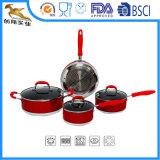 El nuevo Cookware del palillo de la inducción no fija 7 pedazos (CX-AS0701)
