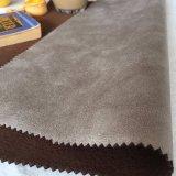 Tessuto solido di lusso pesante del sofà della pelle scamosciata