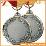 旧式な銀によって切り取られる亜鉛合金メダルはとのカスタム設計する(YB-LY-C-32)