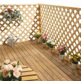 ホーム庭のためのWPC木製DIYのタイルをかみ合わせる中国の製造者のテントの床