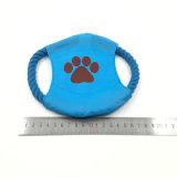 개 훈련 던짐 장난감 비행 격판덮개 밧줄 애완 동물 장난감