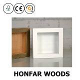 白い装飾の箱枠3Dの深い箱枠