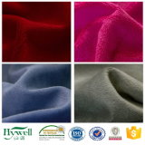 0.5-5mm Stapel super weiches Velboa Polyester-Gewebe