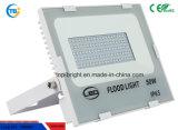 Inundación al aire libre del alto punto blanco ligero del lumen LED AC85-265V 120lm/W 50W LED