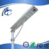 Der neue Produkt-Leistungs-110lm/W3 intelligentes LED SolarstraßenlaterneJahr-der Garantie-