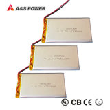 805085 de navulbare 3.7V Batterij van Lipo van het Polymeer van het Lithium van 4000mAh
