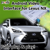 Interfaz video de los multimedia para Lexus para el androide 6.0 de Lexus Nx con Mirrorlink Igo