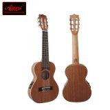 Marque d'Aiersi guitare Electrcial Guitarlele Gu-28e de course de 28 pouces