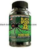캡슐 규정식 환약 체중 감소를 체중을 줄여 까만 거미