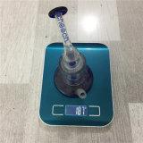 Colector de cristal de gama alta de la ceniza azul del tubo de agua de Cheech que fuma con el tabaco