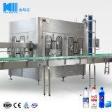 Linea di imbottigliamento automatica dell'acqua del gas prezzo di progetto