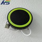 Mini-Qi Carregador Sem Fio Pad com 1 bobina para a Samsung Galaxy Nota 7