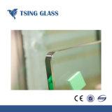 Reepjes Aangemaakt Glas/Gehard glas met de Randen van het Potlood/vlak Randen/Ronde Randen