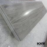 De kunstmatige Marmeren Oppervlakte van de Plak van de Steen Grote Acryl Stevige