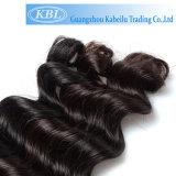 Человеческие волосы естественной волны бразильские в большом штоке