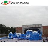 膨脹可能なIceworldの主題水公園、膨脹可能な子供の楽しみ公園